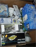 Assorted light bulbs