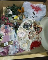 Box  lot -  assorted crafts