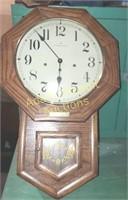 Hamilton pendulum wall clock