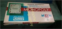 Vintage Monopoly board game and Trivial Pursuit