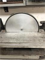 "Enco model 163-4805 (12"") disc sander, 115V"