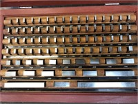 Complete set of gauge blocks, .050 thousands to