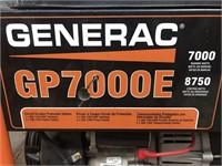 Generac model GP7000E generator w/ electric start