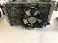 Race car radiator