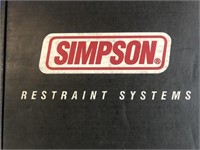 New Simpson racing harness