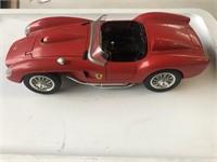 1957 Ferrari 250 Testa model car, 1/18 scale.