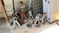 Lot of jack stands