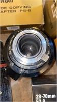 Lot of Nikon camera equipment. Lens, nikkorex,
