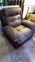 Microfiber reclining chair, 1 year old. Nice.
