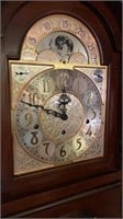 "Sligh mfg Western Germany grandfather clock 7'2""T"