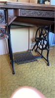 Treadle type sewing machine for restoration