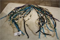 LOT-VARIOUS STRING/BEAD NECKLACES