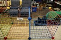 """WIRE TOY HOLDER APPROX  43""""LX15""""DX14-1/2""""H"""