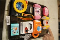 VARIOUS TOY CAMERAS