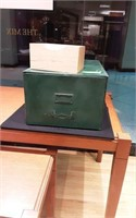 File cabinet and box