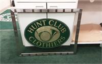 Hunt club clothier advertiser