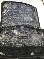 Betsy Johnson Black Backpack/Diaper Bag with