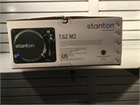 Stanton turntable, T.62 M2 , new in box, 2 speed