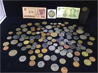 Lot of foreign coinage