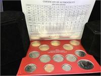 2012 US Mint Unc. Coin set - Denver &