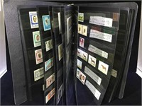 Album of foreign stamps