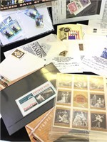 Lot of assorted stamps and Australian Stamped