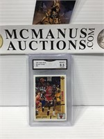 Gma graded 8.5 Michael Jordan