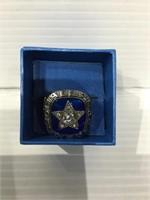 1970 cowboys Championship replica metal ring