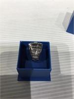 Raiders Championship replica metal ring