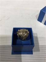 1958 Yankees Championship replica metal ring