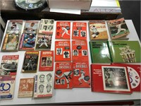 Vintage baseball books