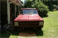 1967 Chevy Flatbed (turns over, factory dual rear)