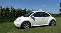 2003 VW BEETLE GLS WITH TURBO ENGINE ONE-OWNER