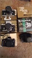 Nikon cameras and Fuji digital