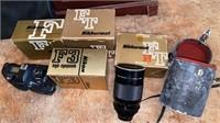 Lot of Nikon camera and 500mm lens