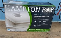 HAMPTON BAY 80 CFM BATH FAN 2 SONE