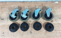 """4"""" INDUSTRIAL CASTERS"""