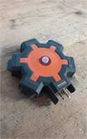 RIDGID 5 OUTLET EXTENSION CORD HUB