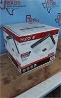 NUTONE DCR 70 CFM FAN LIGHT P. STEEL