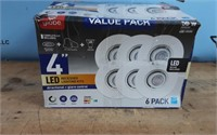 4IN LED REC KIT VALUE PACK -WHITE