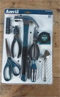 ANVIL 17 PC HOME OWNERS TOOL SET