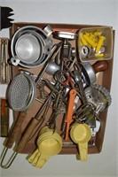 Vintage Kitchen Utensils & Cookie Cutters