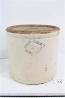 3-Gallon Stoneware Crock