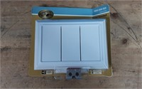 HB WIRED DOOR CHIME WHITE