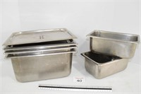 Stainless Steel Warming Trays