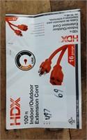 16/3 100' HDX EXTENSION CORD