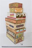 (8) Cigar Boxes