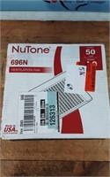 NUTONE 50 CFM WALL/CEILING FAN 696N