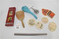 Therometer, Butter Paddle, & Nut Cracker