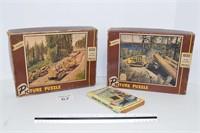 (2) Caterpillar Puzzles & Book